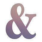 Purple Ampersand by Maren Misner