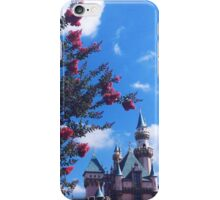 Disneyland Castle In The Summertime  iPhone Case/Skin