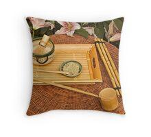 Tea Ceremony Throw Pillow