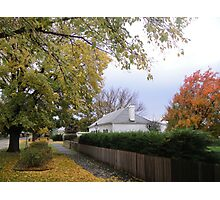 Mrs Keach's Cottage in Autumn, Ross Photographic Print