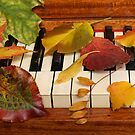 Autumn Leaves Tickle the Ivories by Anna Lisa Yoder