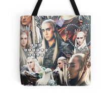 thranduil collage Tote Bag