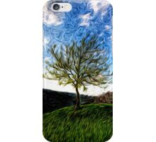 Spring Swirlings 4 iPhone Case/Skin