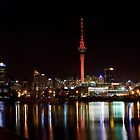 Auckland at Night by Chris Gin
