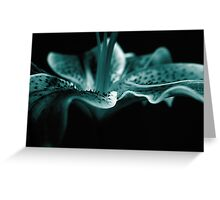 Blue Perfection Greeting Card