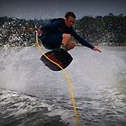 Jumping the wake by Wanagi Zable-Andrews