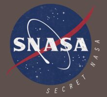 SNASA (Secret NASA - Logo) Kids Clothes