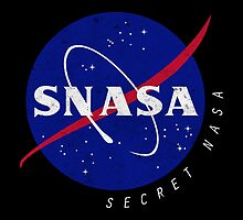 SNASA (Secret NASA - Logo) by LiRoVi