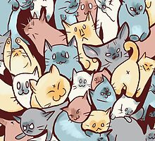 CAT PILE! by Heather Vaughan