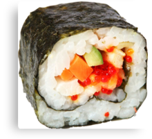 Sushi Roll Canvas Print