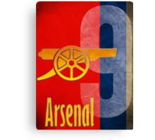 Arsenal FC Canon Design Canvas Print