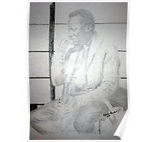 Miles Davis - Thinking Ahead Poster