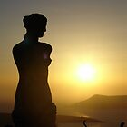 Santorini Sunset by cchughes