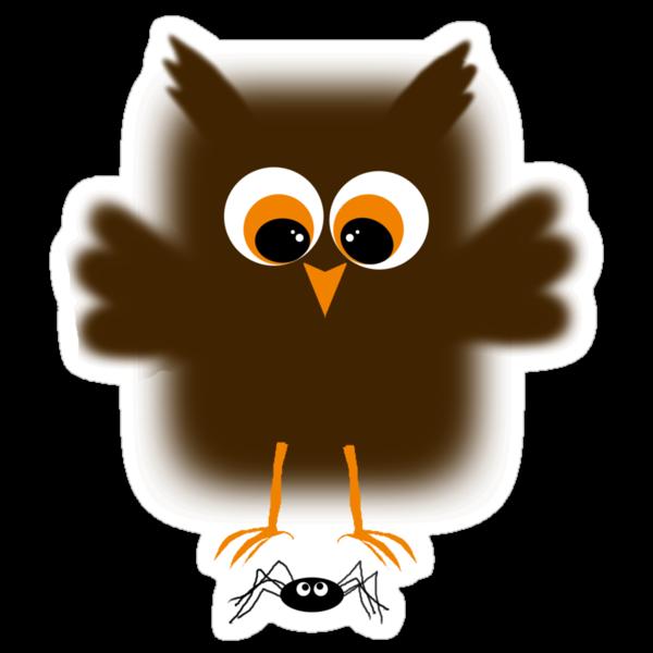 Owl-rachnophobia by Ryan Houston