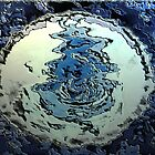 Blue Water Moon from the Altered States Collection by * RoyAllenHunt *