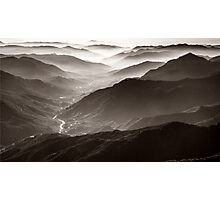 Sequoia National Park Mountains Photographic Print