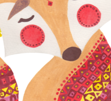 The Little Wolf Sticker
