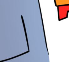 The Pixel Chicken Sticker