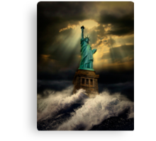 It's the end of the world as we know it Canvas Print