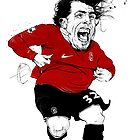 Carlos Tevez by meastbrook