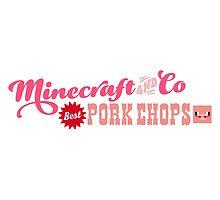Minecraft Pork Chops by Tee Brain Creative