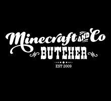 Minecraft & Co Butcher by Tee Brain Creative