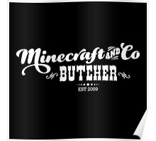 Minecraft & Co Butcher Poster