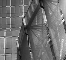 Glass, Lines & Metal by hynek
