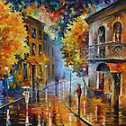 ETUDE IN RED limited edition giclee of L.AFREMOV painting by LeonidAfremov