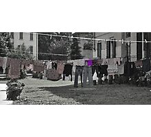 Daily shag poetry (purple) Photographic Print