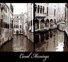Canal Mornings by DavidROMAN