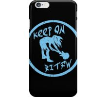 Keep on rockin in the free world. iPhone Case/Skin