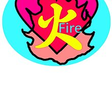 Japanese Character Fire by Nesta125