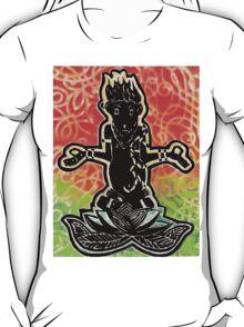 Meditating Monkey with Spray T-Shirt