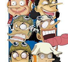 Usopp One Piece by Cifer69