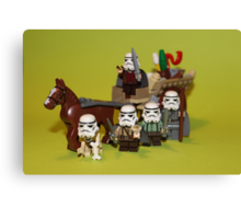 The Hobbit stormtroopers Canvas Print