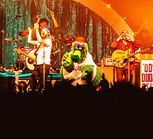Dr. Dog & The Philly Phanatic - Print by silvestography