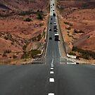 Interstate 15 Outside St. George Utah by Ryan Houston