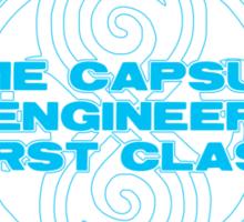 Time Capsule Engineer Sticker
