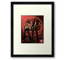 Self Portrait as Robert Plant and Jimmy Page Framed Print