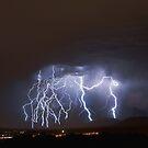 Massive Lightning Strike over NSA Location by Ryan Houston
