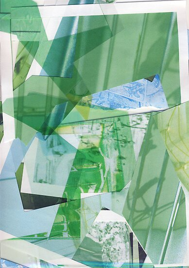 Cut out pieces #5 - Building's games by Pascale Baud