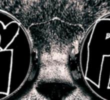 pi phi cat Sticker