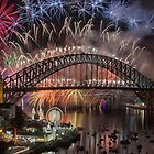 What a Blast - Sydney New Years Day 2015  by Philip Johnson