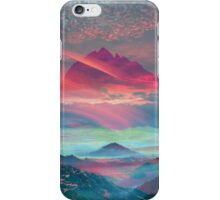 Above all Mountains iPhone Case/Skin