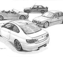 SPICYAUTOART BMW CALENDAR 2013 by Steve Pearcy