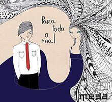 Mesa Para Todo O Mal CD Cover by Ali J
