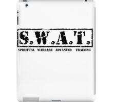 S.W.A.T. BLK iPad Case/Skin