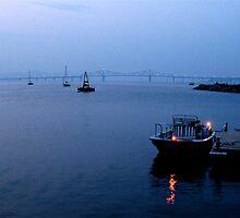 Tappan Zee Twilight by Alvin-San Whaley