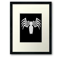 Venom crest Framed Print
